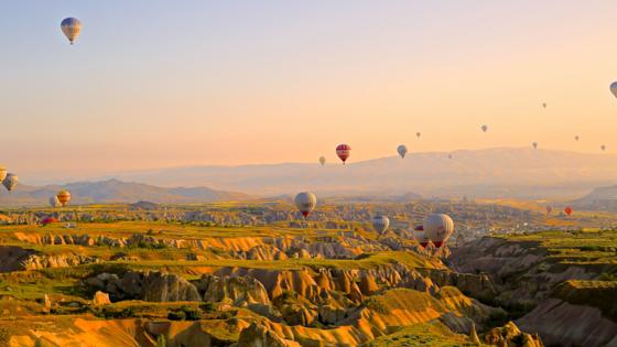 Ginesta.io - Hot Air Balloons